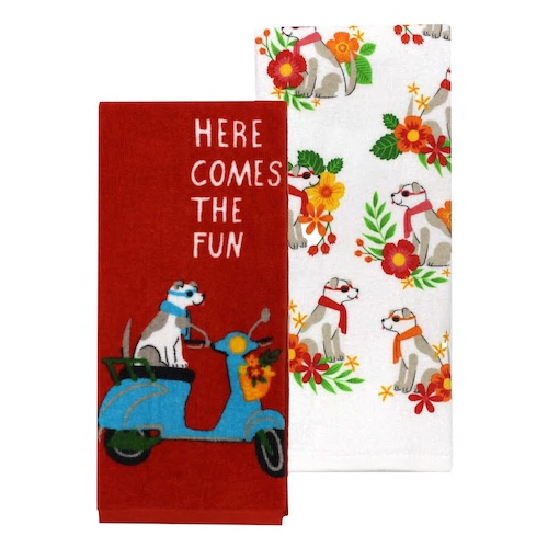The Honolulu Doggy Towel