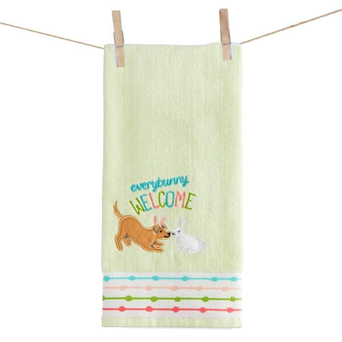 Bunny & Doggy Towel