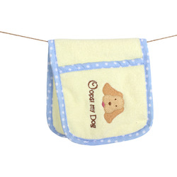Paw Towel Yellow
