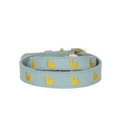 Blue Marshmallow Duck Collar