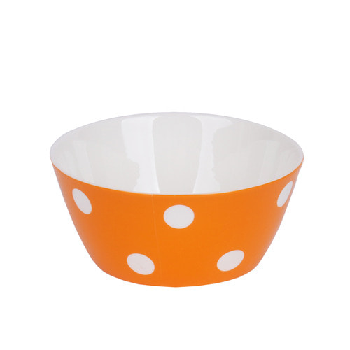 Candy Pop Bowl Orange