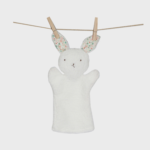 Bunny Puppet white