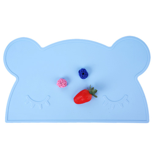My Blue Teddy Mat