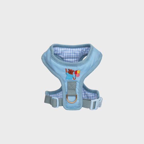 Teddy Bear Harness blue