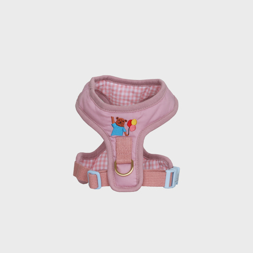 Teddy Bear Harness pink