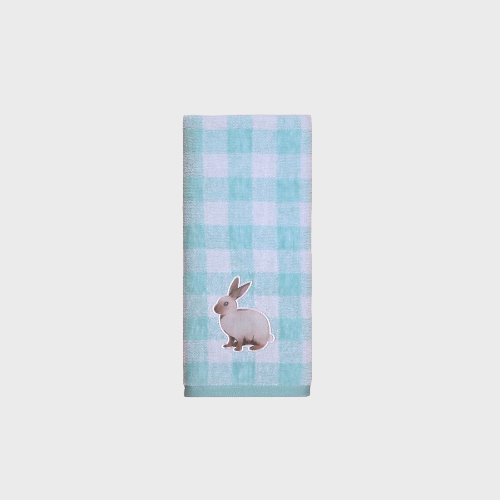 Square Bunny Towel